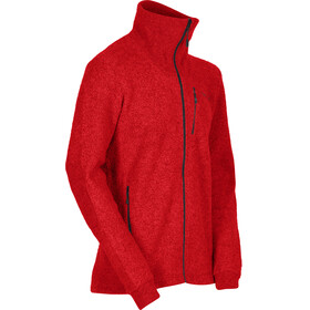 Norrøna M's Svalbard Wool Jacket Crimson Kick